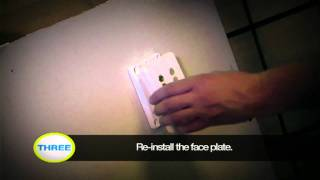 How to install Audio/Video wall plates