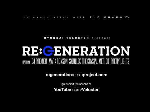 RE GENERATION Track  Skrillex Breakn' a Sweat