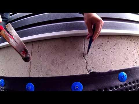Foundation Concrete Crack Repair
