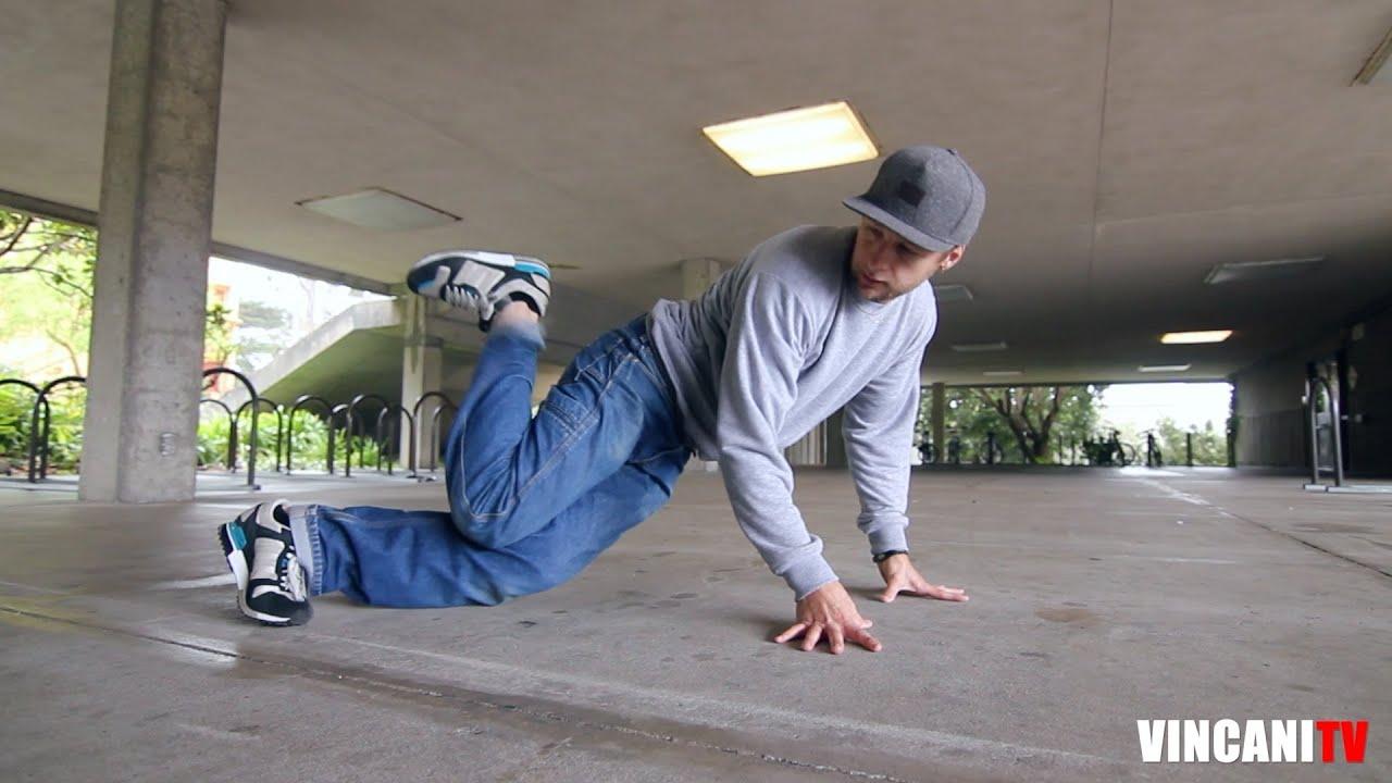 Breakdance Footwork Combination Intact