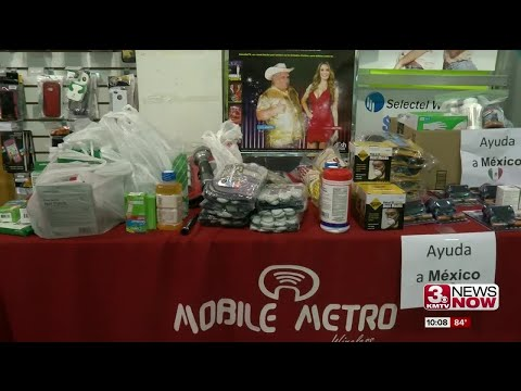 Omaha group collects items for quake victims