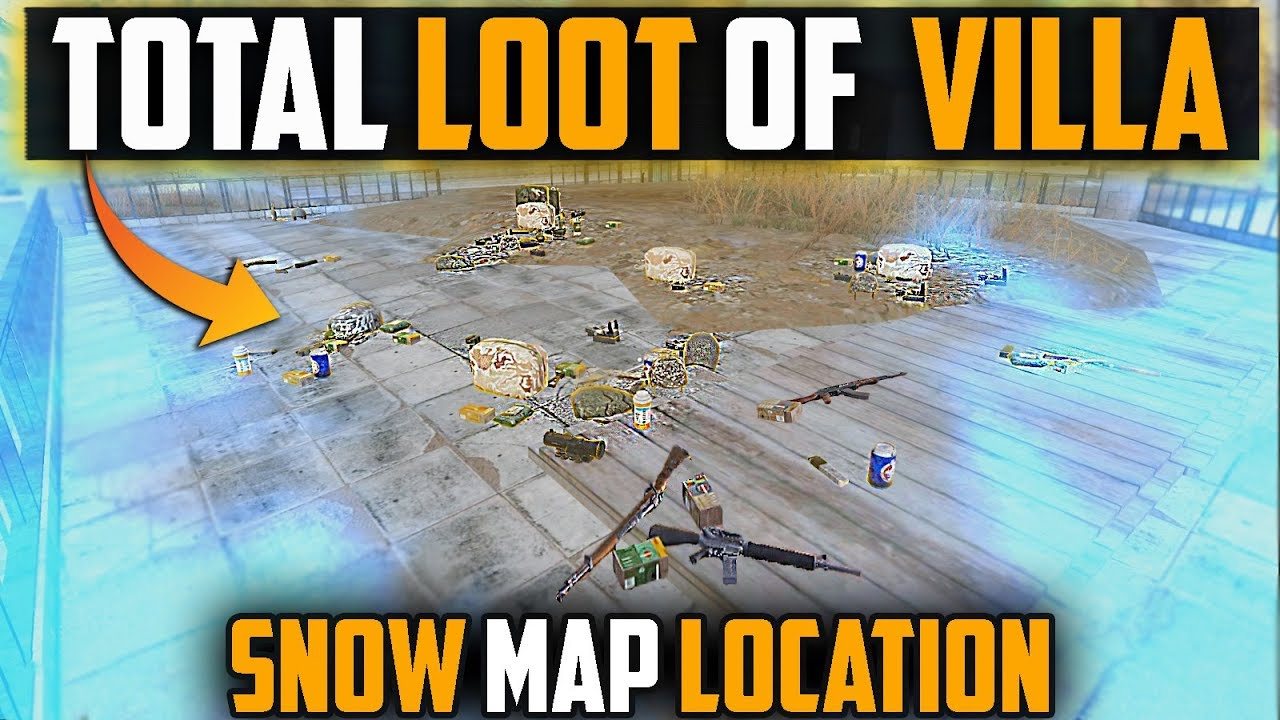 Total Loot Of Villa In Vikendi Map Pubg Mobile Tips And Tricks Youtube