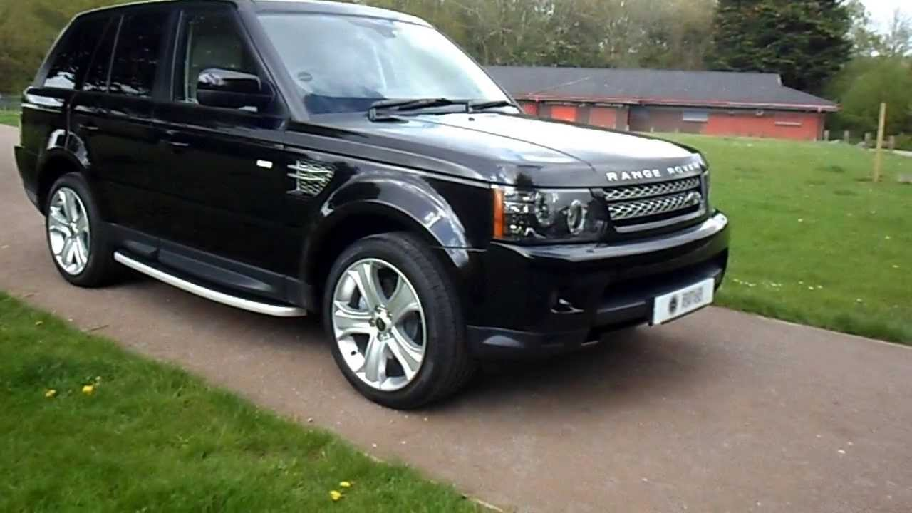 2013 13 plate range rover sport hse sdv6 black edition sold youtube. Black Bedroom Furniture Sets. Home Design Ideas