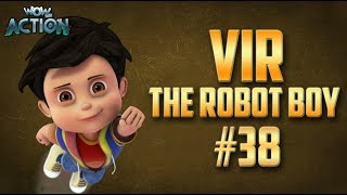 Vir: The Robot Boy | Hindi Cartoon Compilation For Kids | Compilation 38 | WowKidz Action