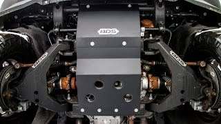 chevy gmc bds hd skid plate