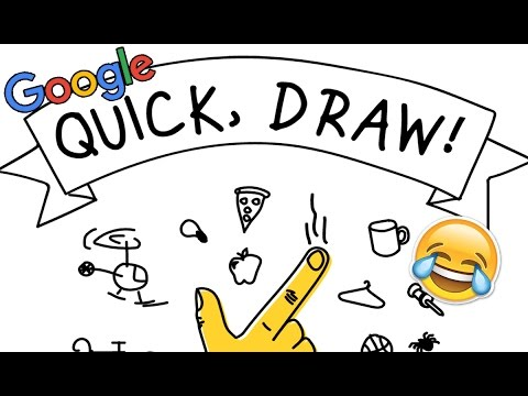 fun with google s quick draw the a i drawing game xo pixel youtube