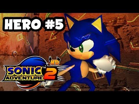 Laberinto en la pirámide | SONIC ADVENTURE 2(HD) HERO Parte 5