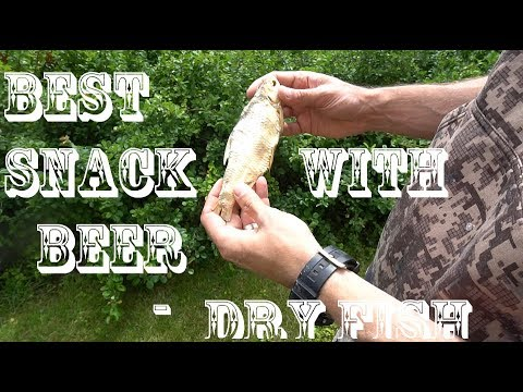 How To Dry Fish. BEST Snack With Beer!