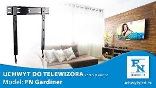 """Gardiner - Ultrapłaski certyfikowany uchwyt do telewizorów LCD, LED plazma 32""""-55"""""""