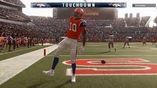 Broncos Vs. Rams-Von Miller Faces Aaron Donald! Madden NFL 19 Online Gameplay