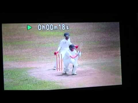 James Palmer 75 in 34 degrees for Gloucestershire U17's tour of Sri Lanka