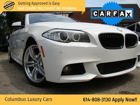 2013 Bmw 5 Series 4dr Sdn 550i Xdrive Awd Columbus Luxury Cars Dealership In Columbus