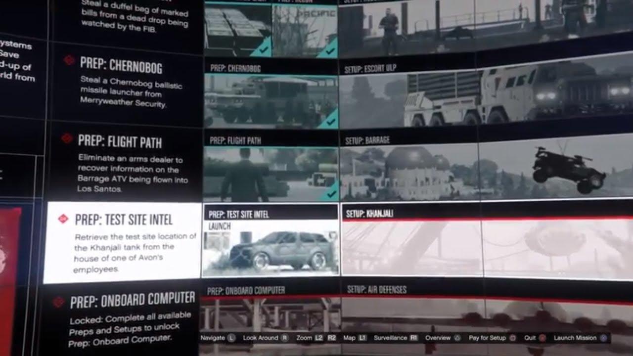 gta 5 doomsday heist act 3 tank or atv