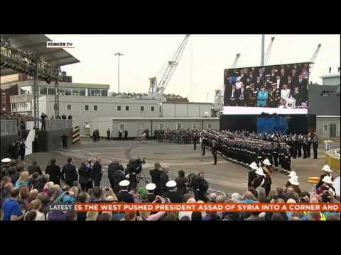 HMS Illustrious Decommissioned in Portsmouth 28.08.14