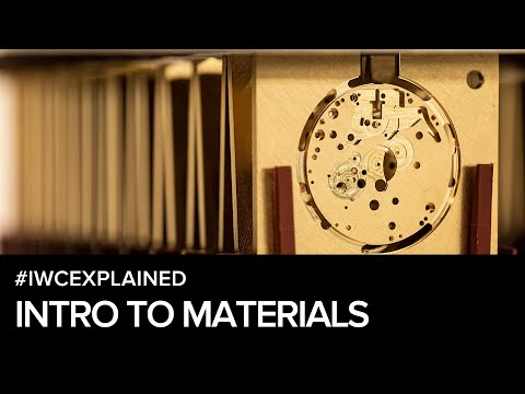 #IWCEXPLAINED - Intro To Materials