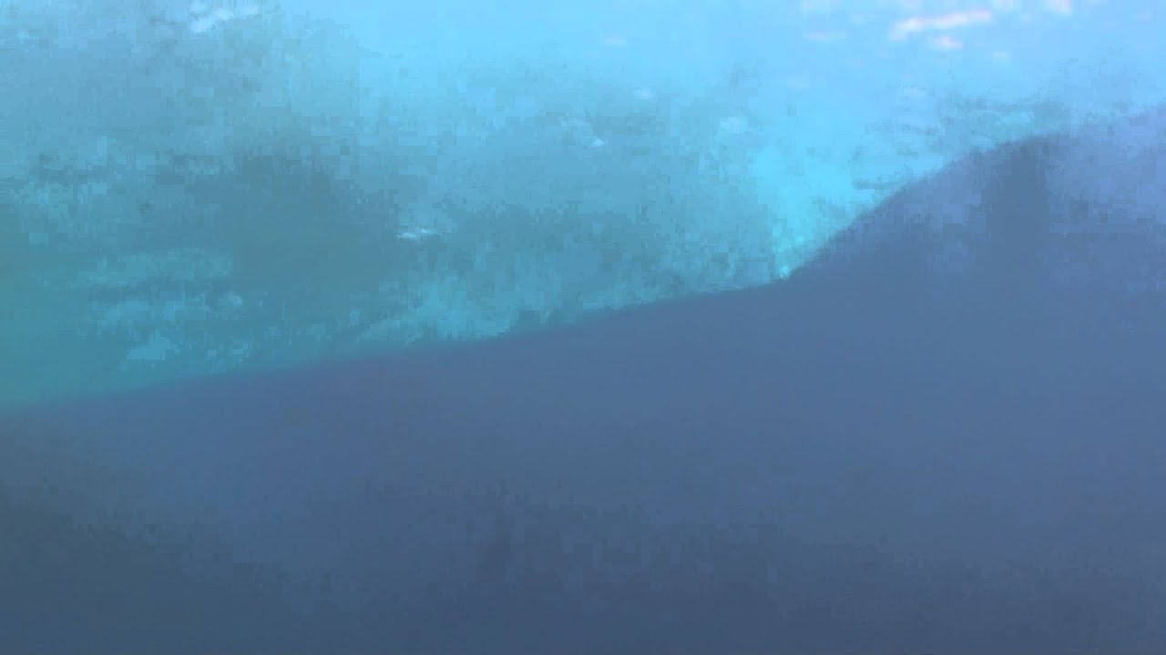 Continental shelf in the Carribean Sea. - YouTube