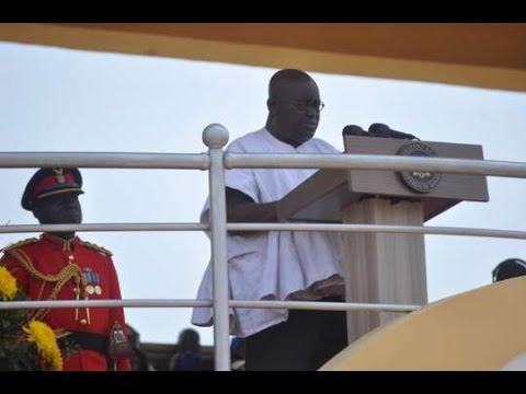 Ghana@60: President Akufo-Addo On Environment