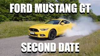 Ford Mustang GT (ENG) - Second Date