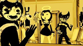 - BENDY FIDGET SPINNER SFM BORIS SAMMY ALICE INK Bendy Animation Compilation SCENE MOVIE SEASON 9