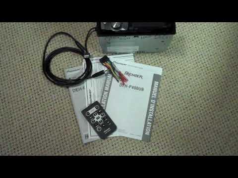 pioneer dehp400ub  premier radio / cd research