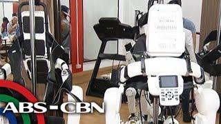 Robot, tulong sa mga may kapansanan | Bandila