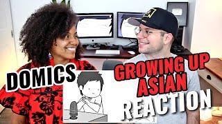 Domics - Growing Up Asian | REACTION
