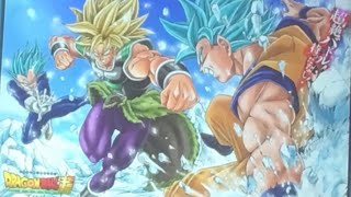 DRAGON BALL SUPER MOVIE! MORE BROLY IMAGES REVEALED! MY THOUGHTS!