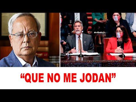 César Hildebrandt MOLESTO por el gobierno de Sagasti y la prensa peruana