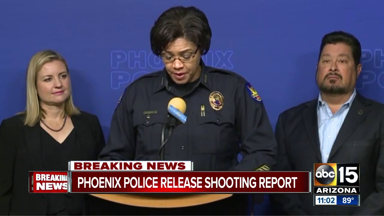Phoenix Police Department releases study on officer-involved shootings
