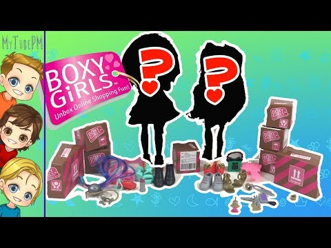 NEW!  Boxy Girls Limited Edition |  Meet Stevie and Everly