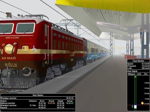 12060/Delhi Hazrat Nizamuddin - Kota JanShatabdi Express    IR In MSTS Open Rail