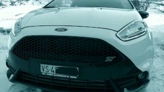 ford fiesta black and white edition 215 hp by mountune