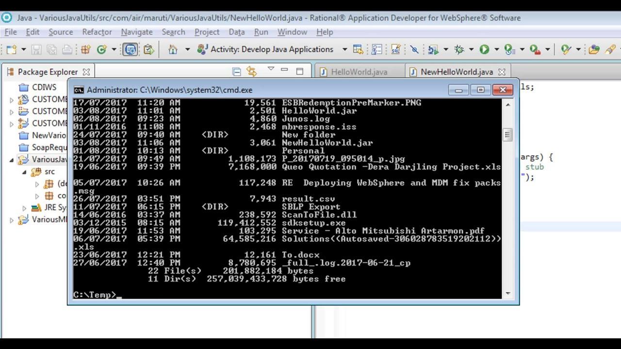 How to Create and Execute/run a java jar(Executable) file ...