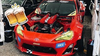 Drifting, Drinking, Racing, Party, Music Festival & More! (BTS/Vlog 3)