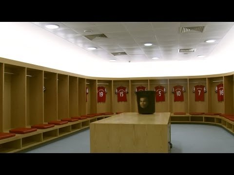 Arsenal's Amazing Dressing Room Design At The Emirates