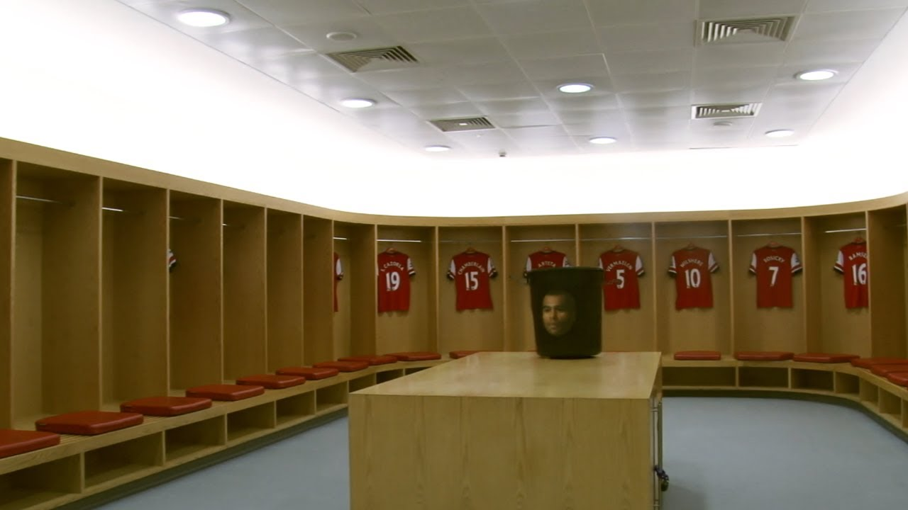 Arsenal S Amazing Dressing Room Design At The Emirates