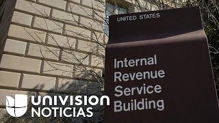 El IRS dice que tardará en devolver impuestos a familias de bajos recursos