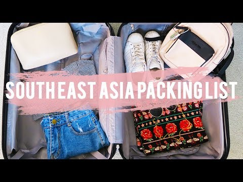 WHAT TO PACK - Southeast Asia Packing List | Rylie Lane