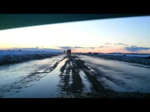 Дороги Севера зимник Салехард Приобье  Ямал 2017