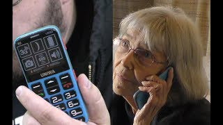 MOSTHINK V808G 3G Simple Senior Unlocked Cell Phone Old Man Adults Kids Classic Portable Basic Senio