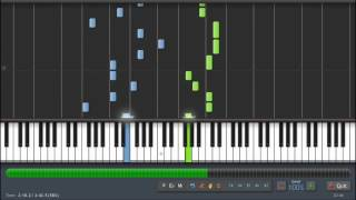 Flo Rida - Whistle - Piano Tutorial - Synthesia