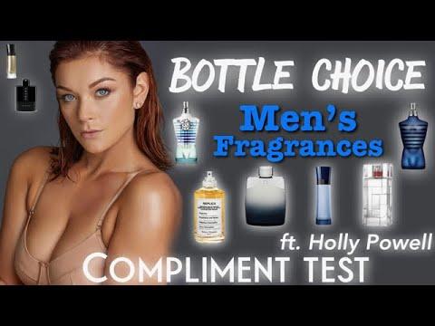Poppin' Bottles Men's Fragrances | Compliment Test Ft. Holly Powell