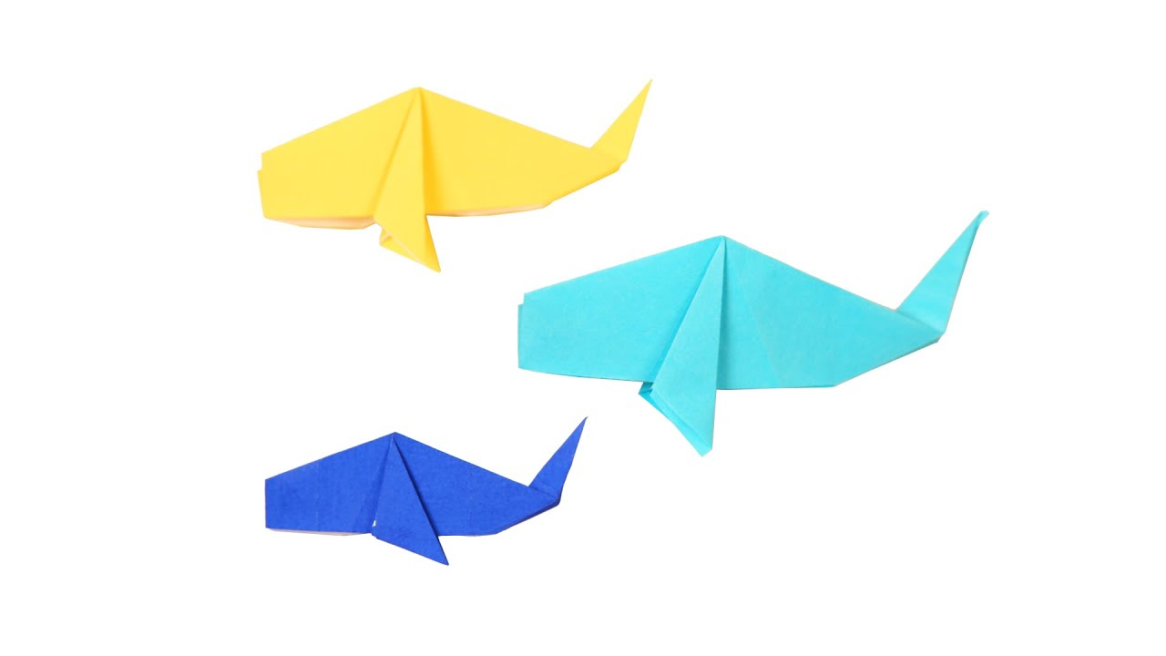 Learn How to Make Origami Whale | DIY | Origami Tutorial ... - photo#35