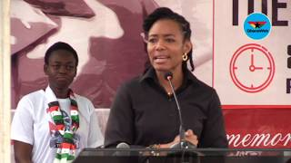 Zanetor Rawlings' full speech at the 40th anniversary of June 4 Revolution
