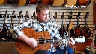 New Bent Twig Medium Jumbo Koa Guitar