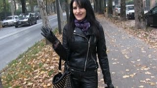 LEATHER OUTFIT!