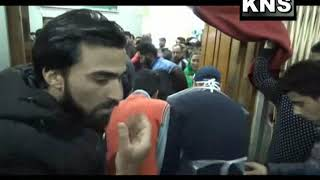 Video: Kulgam blast victims at SMHS Hospital Srinagar