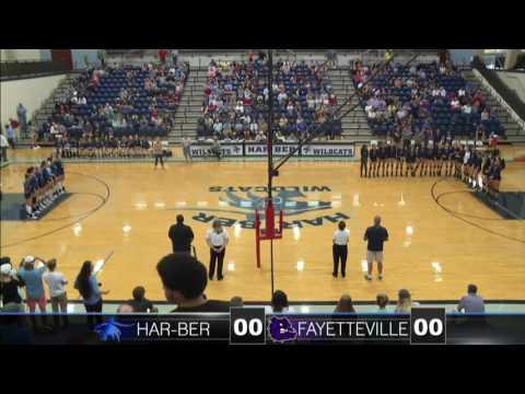 Fayetteville vs Har-Ber Volleyball
