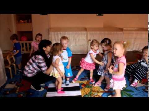 """Частный детский сад""""В гостях у Солнышка"""" Ясли, занятие"""