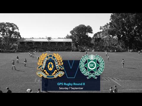 GPS Rugby 2019 R8: St Joseph's Nudgee College V Brisbane Boys' College